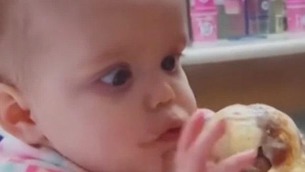 Gulliga bebisklippet som sprids över världen