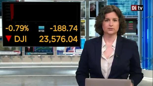 Marknadsnytt 16.00: Nedgången tilltar i Stockholm efter Fed-chefens tal