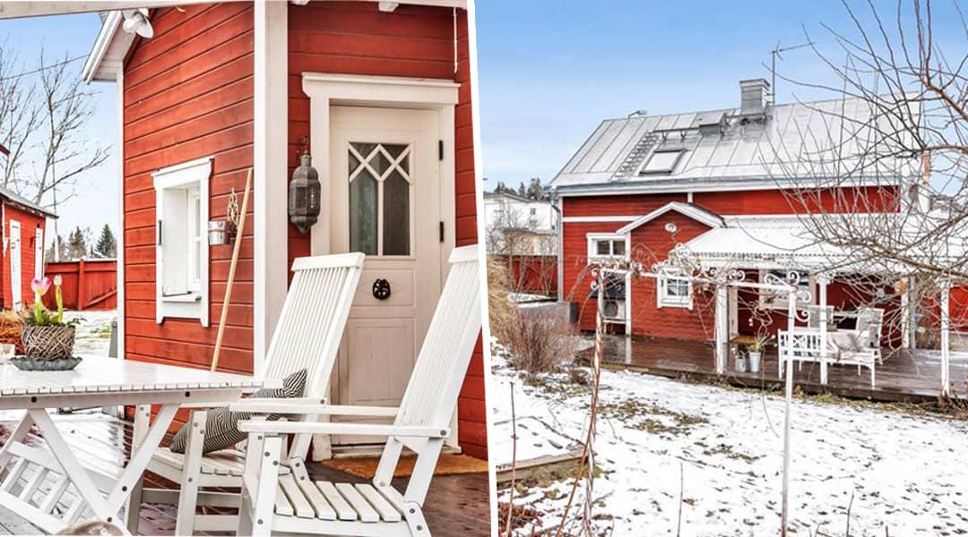 Hemnet u2013 drömhus i lantlig stil i Norrtälje