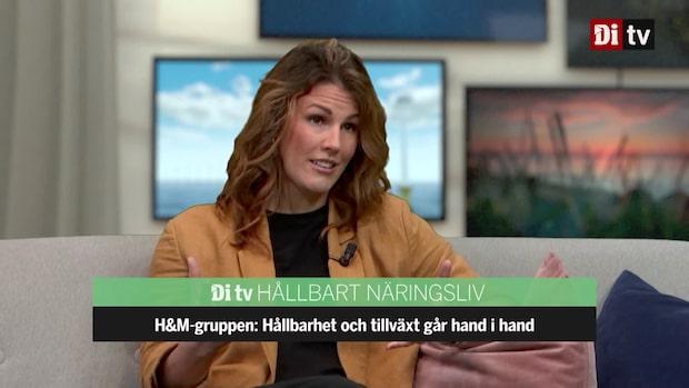 Se hela intervjun med H&M-gruppens hållbarhetschef