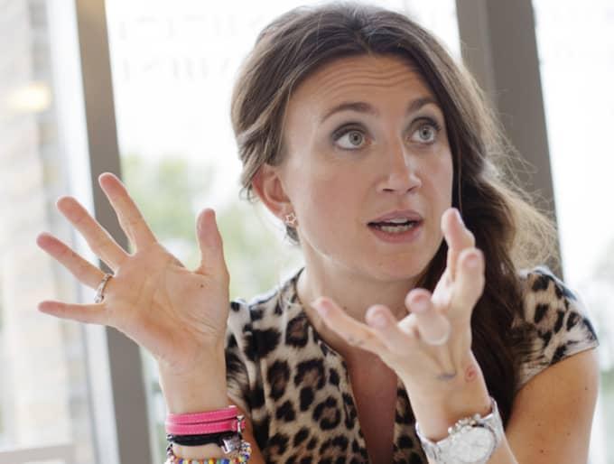 Camilla Läckberg är orolig för att ha drabbats av zikaviruset. Foto: Henrik Jansson