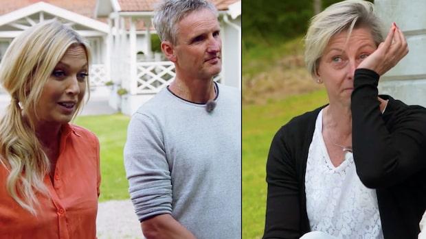 Yvonnes tårar efter chock- beskedet i Bonde söker fru