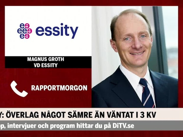 Magnus Groth vd Essity: Fyra kvartal på rad –  höjer ribban med nya satsningar