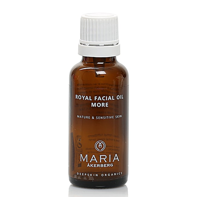 "<span>Royal facial oil more, 299 kronor/30 ml, Maria Åkerberg</span><span><span class=""wasp-icon""></span><span class=""wasp-icon""></span><span class=""wasp-icon""></span><span class=""wasp-icon""></span><br></span>"