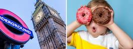 Hitta Londons roligaste matställen med ny matkarta