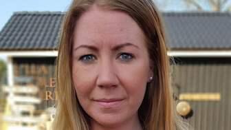 Marie Karlsson, 31, började skaka när hon fick höra om Camilla Läckbergs inlägg. Foto: Privat