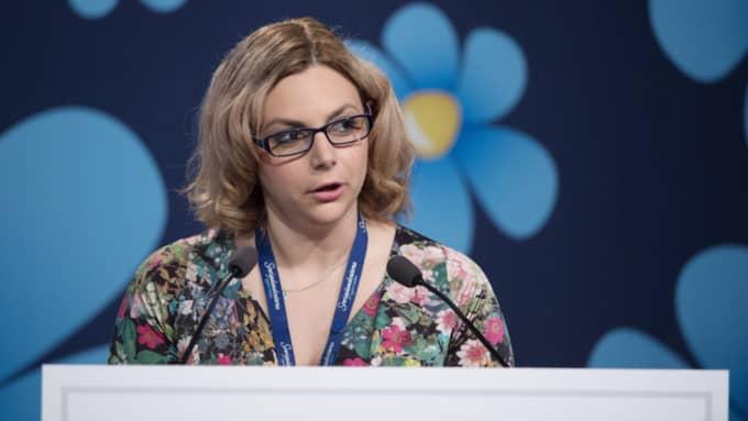 Paula Bieler (SD), integrationspolitisk talesperson. Foto: Sven Lindwall