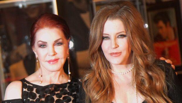 Priscilla Presley utan barnbarnen