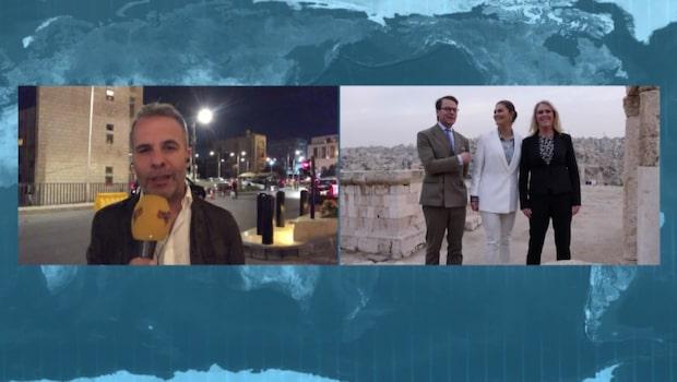 Kronprinsessan Victoria och prins Daniel besöker Jordanien