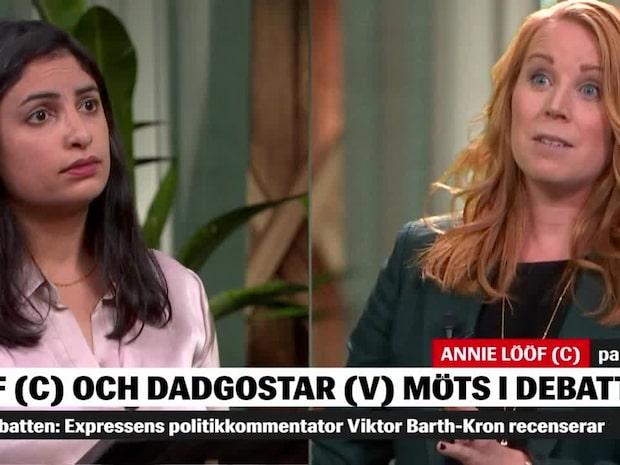 """Annie Lööf avfärdar V:s las-erbjudande: """"Amen, lägg av nu"""""""