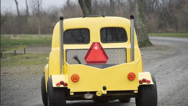 Höjd fartgräns för A-traktorer och epatraktorer på gång