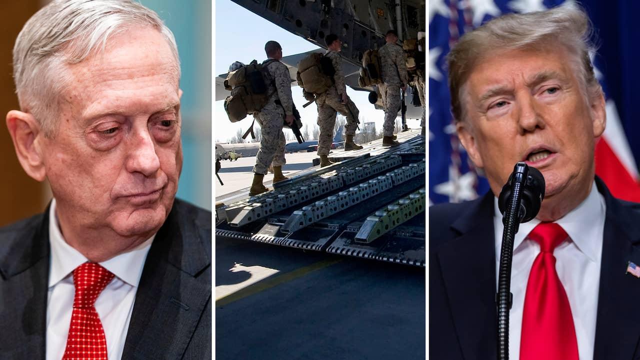 Trump bekraftar mad dog ny forsvarsminister