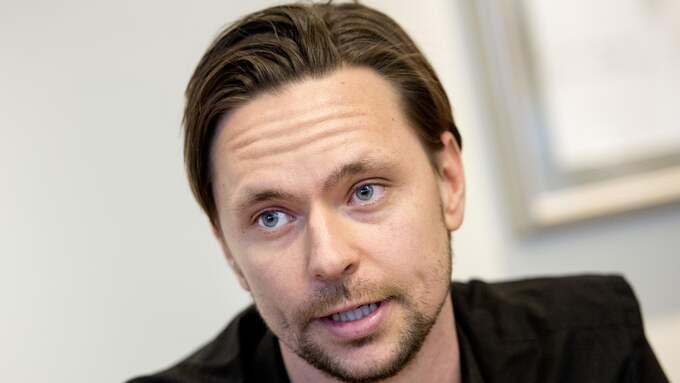 Ymers nye tränare Robin Söderling. Foto: NIKLAS LARSSON / BILDBYRÅN