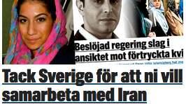 """Rexvid skriver här slutreplik till Dahnad, som skrev texten """"Tack Sverige för att ni vill samarbeta med Iran"""". Foto: Privat"""