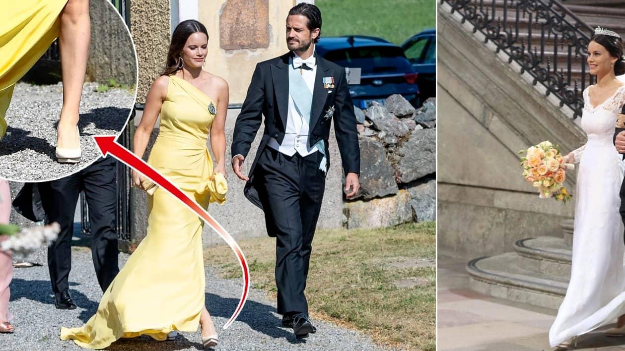 Prinsessan Sofias kärlekssignal på Lussan Gottliebs bröllop