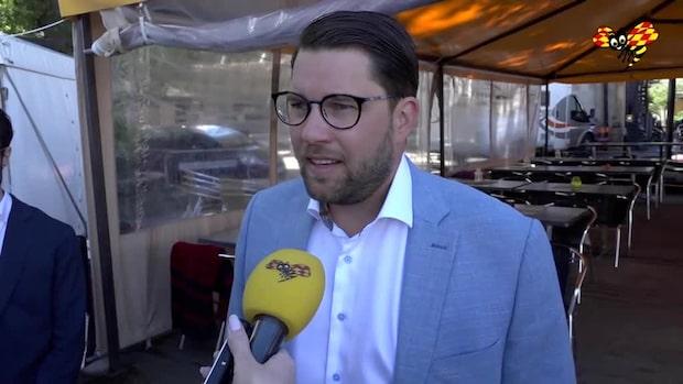 """Åkesson: """"Beklagar att Sabuni kommer stödja Löfven"""""""