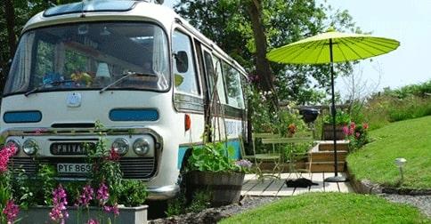 Gamla skolbussen blev underbart hem på hjul Hemma hos Expressen Leva& bo