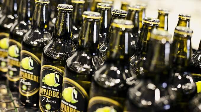 Även alkoholbolag går bra på börsen. Kopparbergs bryggeri har sett aktien öka med 64 procent. Foto: Pressbild Kopparberg