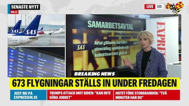 Det här handlar SAS-strejken om