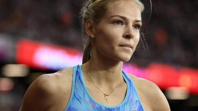 Darja Klisjina. Foto: FRANCK ROBICHON / EPA / TT / EPA TT NYHETSBYRÅN