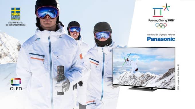 Tävla om en OLED TV från Panasonic! Hur laddar du upp inför OS hemma i din tv-soffa?