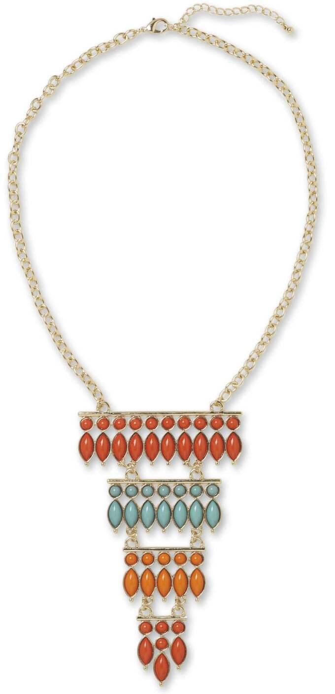 HALSFINT Aztekinspirerat halsband från MQ, 179 kronor.