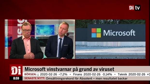 "Olavi om vinstvarnande Microsoft: ""Ett tecken i tiden"""