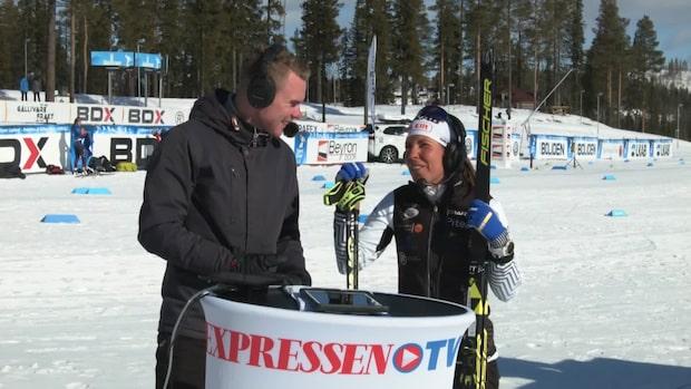 """Kalla om Ebba Anderssons kross: """"Det är imponerande"""""""