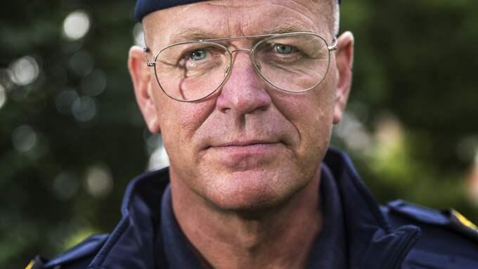 Erik Nord, Polisområdeschef Storgöteborg. Foto: HENRIK JANSSON