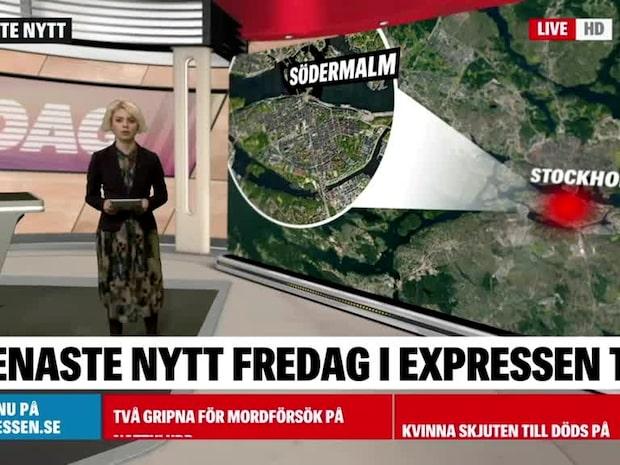Mordförsök på nattklubb på Södermalm