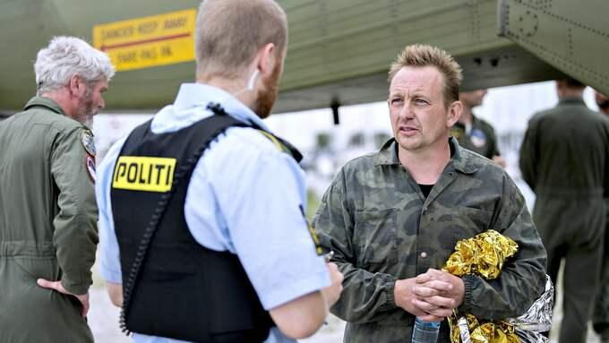 Inventor Peter Madsen has been charged with murder. Foto: BAX LINDHARDT / EPA / TT / EPA TT NYHETSBYRÅN
