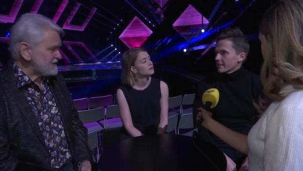 Melodifestivalens programledare om morgonens rep