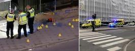 Två döda och fyra skadade efter skjutning i Malmö