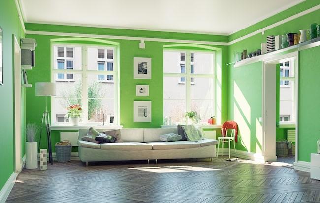 Färgen på väggen har större betydelse än många tror eller vet. Väggfärgen inte bara påverkar interiören, utan också ditt välmående.