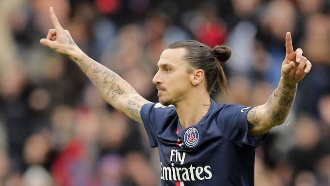 Zlatan Ibrahimovic i PSG. Foto: CHRISTOPHE ENA / AP