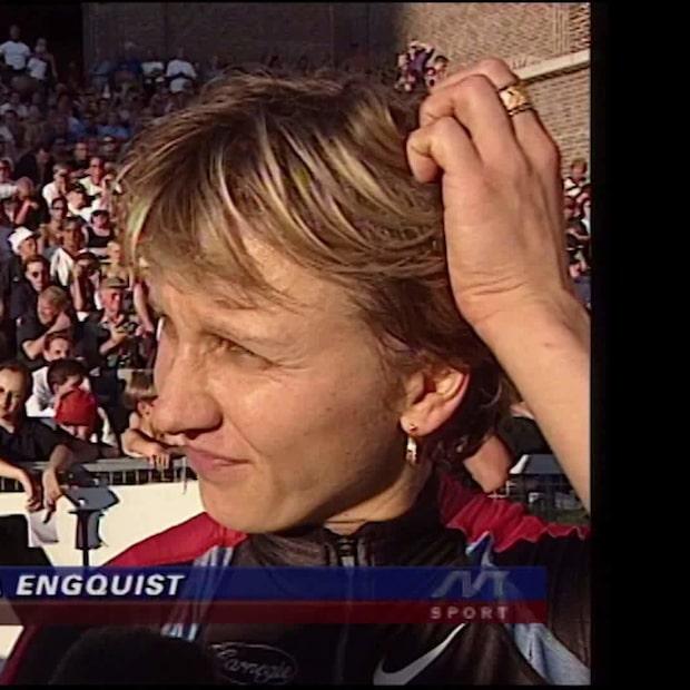 Ludmila Engquists comeback på DN-galan 1999
