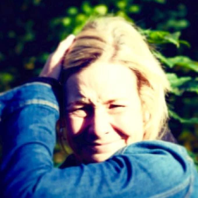 Matilda Brinck-Larsen avbröt semestern för att se till att det nya boendet i Lerum fungerar som det är tänkt. Foto: Privat