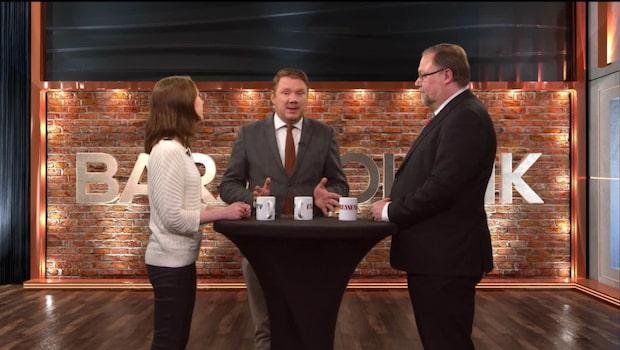 Bara politik: Se hela debatten mellan Maria Ferm (KD) och Mikael Jansson (SD)