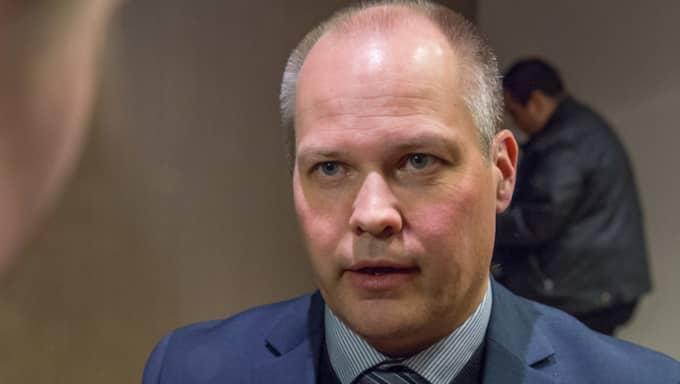 Justitieminister Morgan Johansson. Foto: Pelle T Nilsson/Stella Pictures