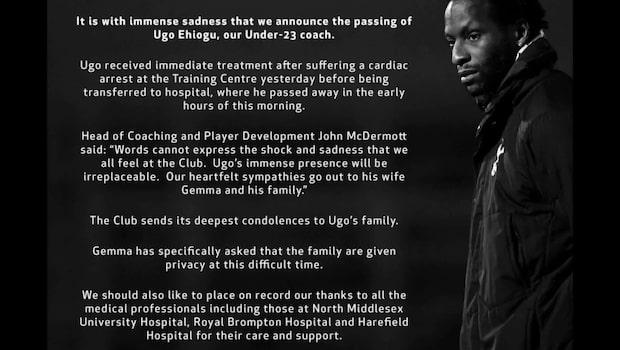 Ugo Ehiogu har avlidit – blev 44 år gammal