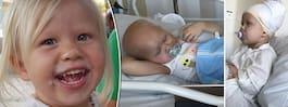 Molly, 5, döende i svåra sjukdomen
