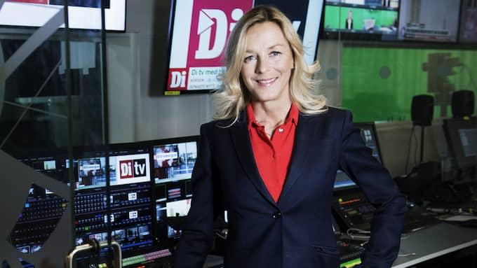 Anna Ekelund, programledare på Di TV. Foto: OLLE SPORRONG