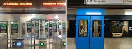 Stora förseningar i tunnelbanan på flera linjer