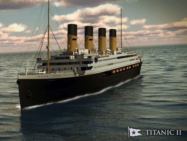 Fler livbåtar gör att kopian blir större än originalet.