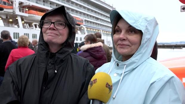 """Passagerare: """"Vi visste inte om vi skulle överleva"""""""