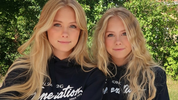 """Tiktok-tvillingarnas nya projekt: """"Jätteglada"""""""