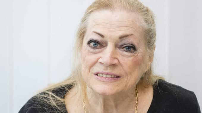 Skådespelerskan Anita Ekberg avled i förmiddags. Foto: Tomas Leprince
