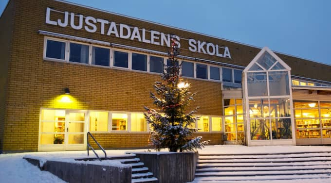 Toppar sämstalistan. Ljustadalens skola i Sundsvall blev sämst i landet enligt Skolverkets Salsa-mätning. Foto: Anna-Lena Mattsson