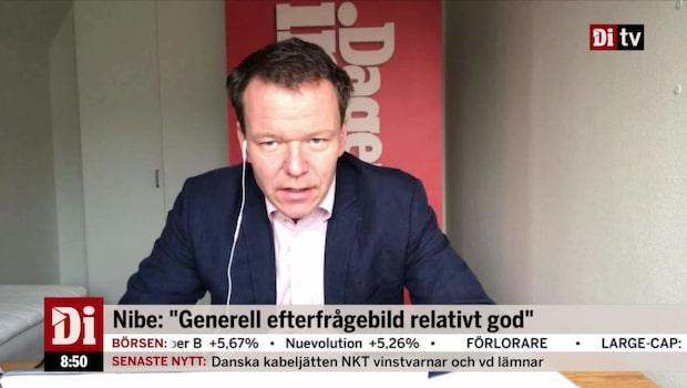 """Ulf Petersson: """"Det här är ett starkt resultat av Nibe"""""""