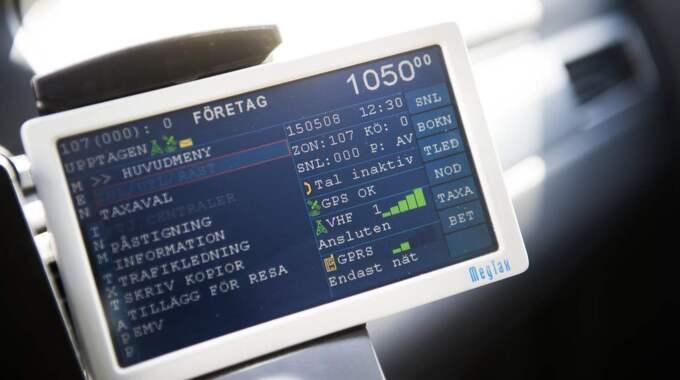 Att ta taxi runt Göteborgsvarvet kostar 1 065 kronor. Foto: Robin Aron